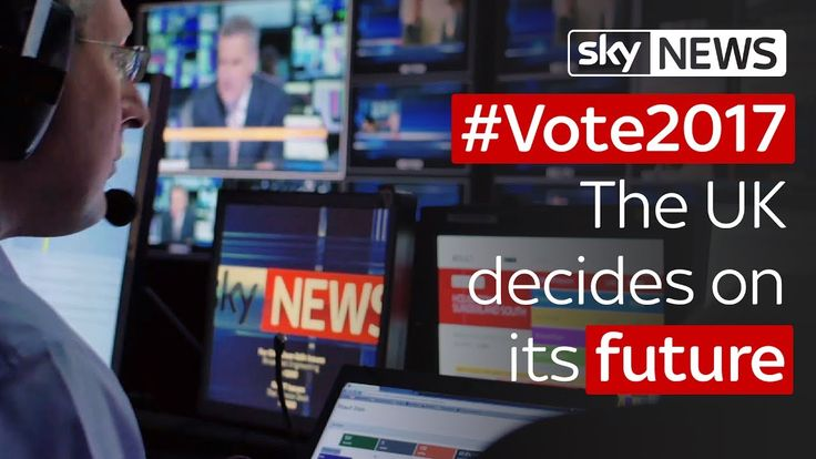 Sky News on election night