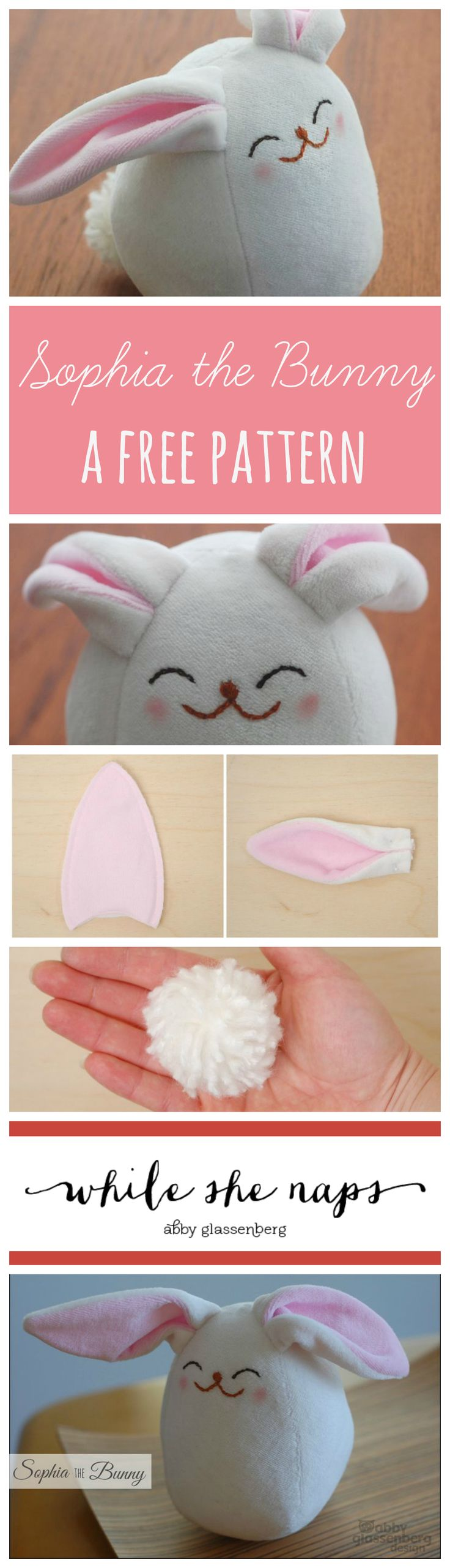 A free pattern for Sophia the Bunny