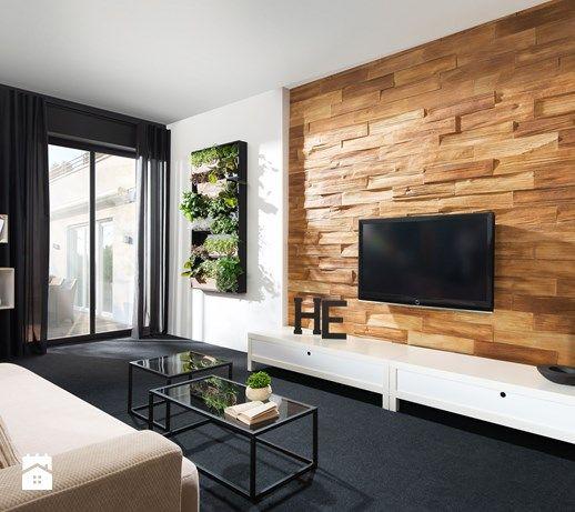 Betonowa płytka Timber - Salon, styl nowoczesny - zdjęcie od STEGU