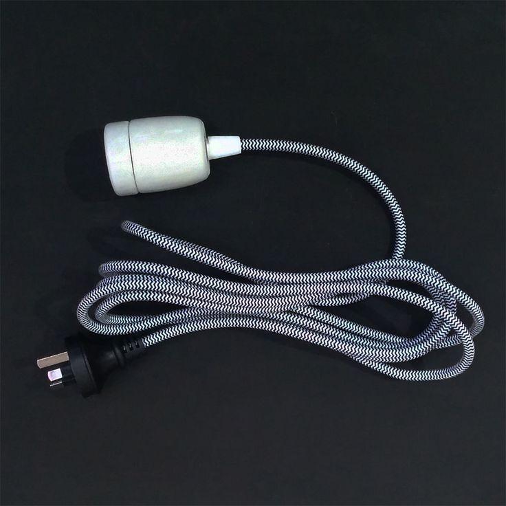 Lighting-cord-ceramic-b&w