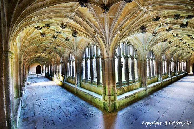 Lacock Abbey Cloisters | by Holfo