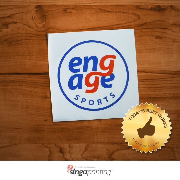 We produce quality personalized sticker prints and design with glossy matte or uncoated finish at very affordable price