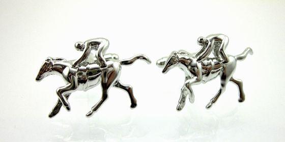 Mens Cufflinks - Horse Racing.  Find it at www.giftedmemoriesjewellery.com.au