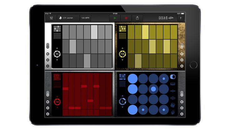 Review Skram for iPad Liine's Powerful Groovebox