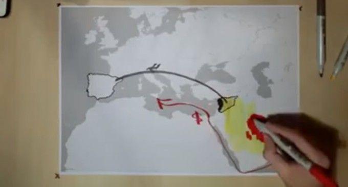 """Las 25 mentiras del vídeo 'La guerra siria en 5 minutos' ¶ Falsa es su """"información"""" sobre la """"Primavera árabe que llega a Siria"""": cierto que en Egipto, Túnez, Irak, Bahréin o Yemen hubo rebeliones populares por la democracia económica y política, pero no fue el caso de Libia (que formaba parte de la Operación Nueva Normalidad, ni de Siria. Según Wikileaks, EEUU estaba intentaba provocar una guerra civil en Siria desde el 2006."""