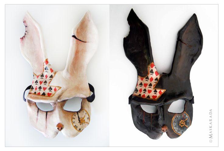 Bunny masks by Maskarada - Masks & More