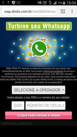 Mais de 15 milhão caem em golpe de 'modo espião' do WhatsApp