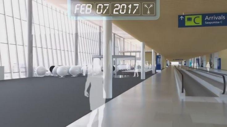 Cum va fi Aeroportul din Helsinki în 2020 (video)