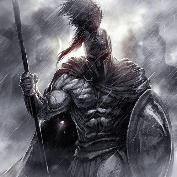 Spartan, Greek, Male Warrior, Soldier