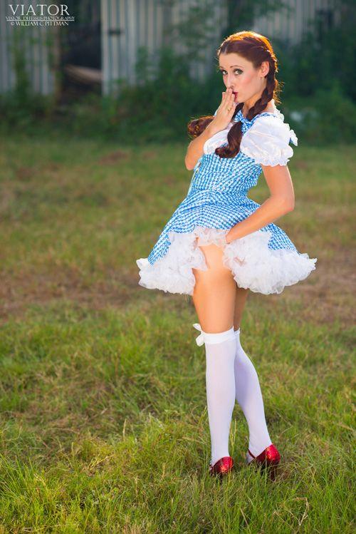 Pantyhose and mini skirts