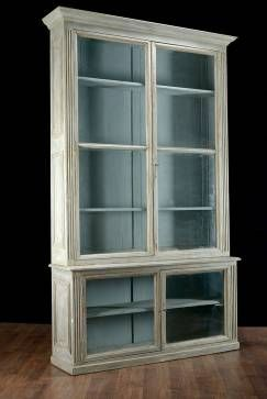Pair of antique #glass #door #bookcases/vitrinnes, French, ca. 1900, available in #Houston #Mecox #interiordesign #MecoxGardens #furniture #shopping #home #decor #design #room #designidea #vintage #garden