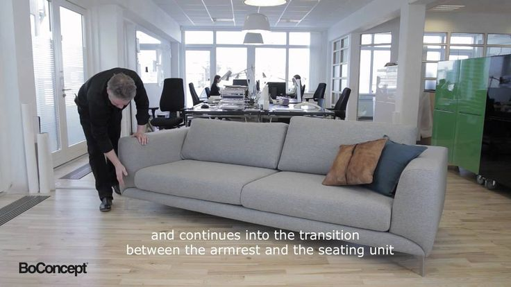 Anders Nørgaard Talking About The Super Cool Fargo Sofa. Modular ...