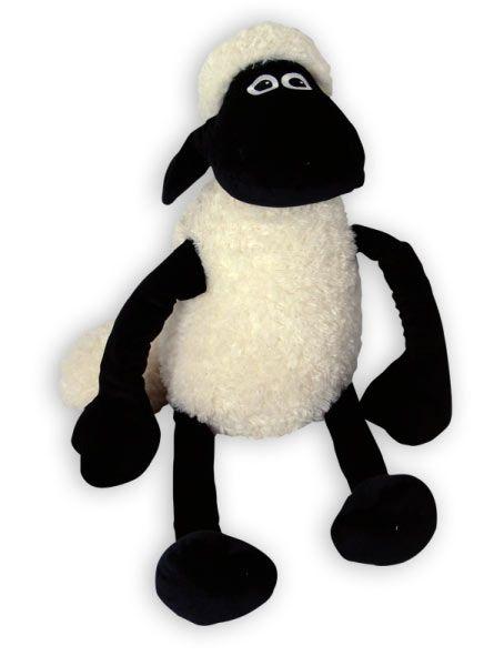 Peluche Oveja Shaun, 22 cm Peluche de 22 cm de la oveja Shaun, protagonista de la serie animada La Oveja Shaun.