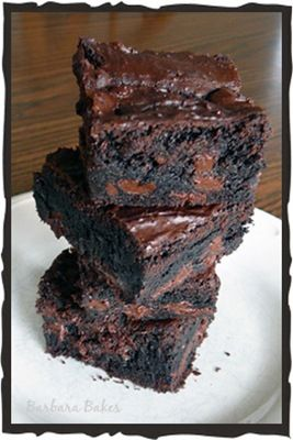 King Arthur Flour Fudge Brownies (supposedly like the Ghiradelli box mix brownies w/o the box)