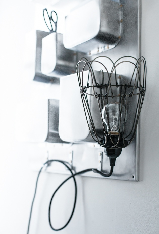 house doctor lamp shade wire lampen pinterest f r hemmet och id er. Black Bedroom Furniture Sets. Home Design Ideas