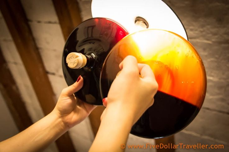 Museo dell'aceto balsamico tradizionale, Spilamberto, Italy - Spotting the difference between a balsamic aged 12 years and one aged 24 years. This museum opens up your eyes to the craftsmanship involved in every aspect of making traditional balsamic vinegar.