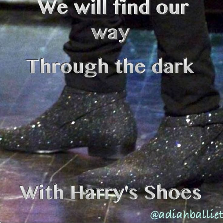 "theyre so sparkly im gonna dieeeee!!! lol<<< when i saw these i jumped up and yelled at the tv screen ""HARRY EDWARD SYLES WHAT ARE YOU WEARING ON YOU FEET????lol"