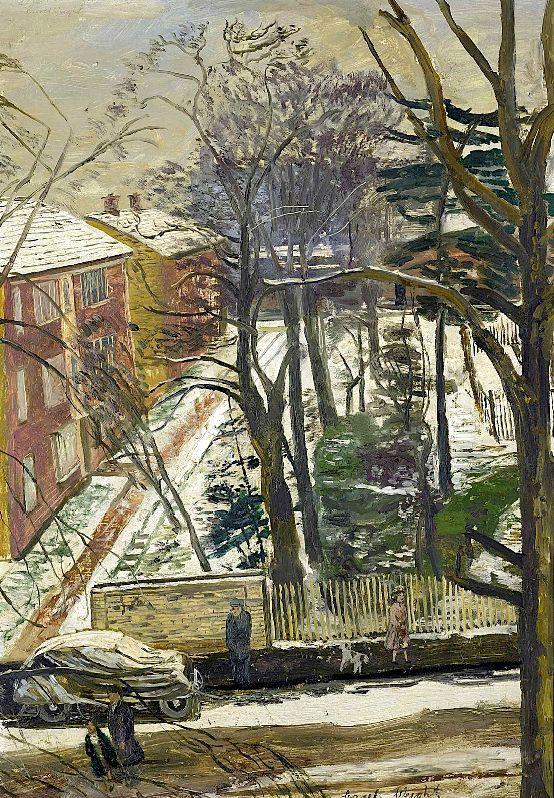 Snow, Putney - Carel Weight