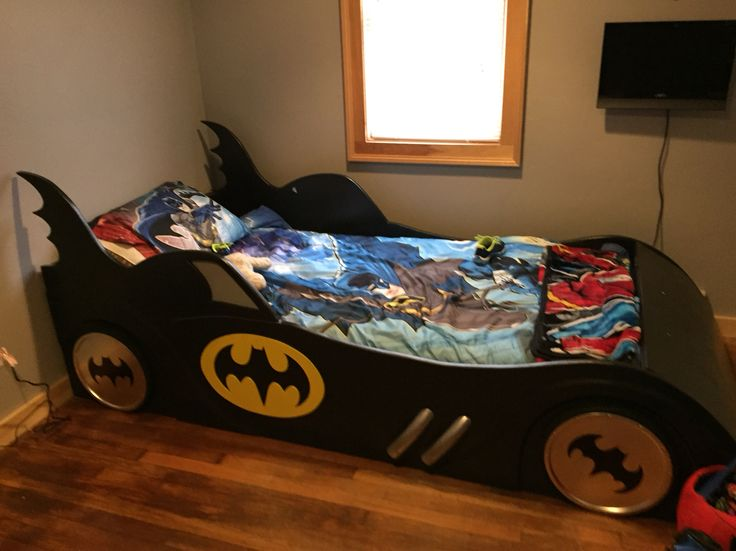 Handmade Twin Sized Batmobile Bed Projects Pinterest