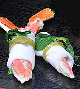 ズワイガニの千枚漬け巻き by はるさんの台所 [クックパッド] 簡単 ...
