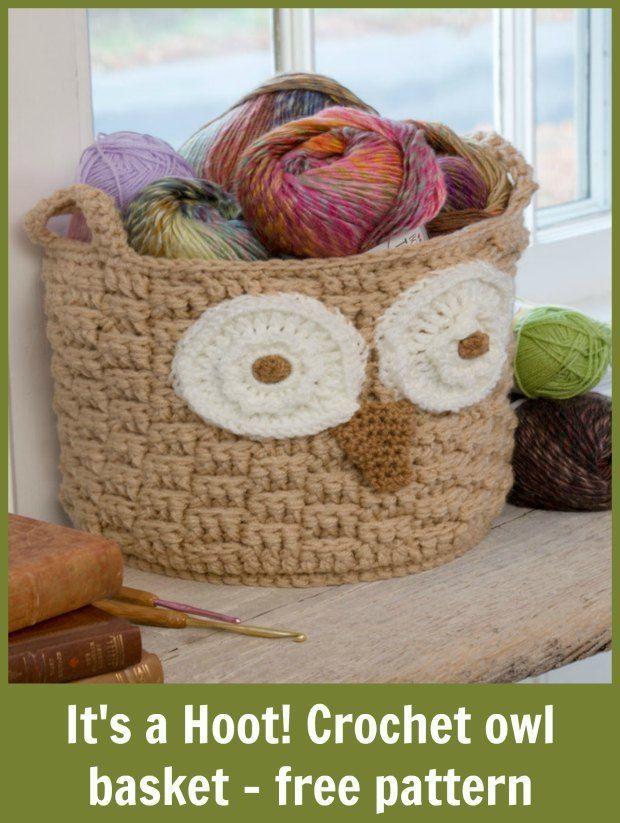 Free Crochet Pattern Owl Basket : 25+ best ideas about Crochet Owl Basket on Pinterest Owl ...