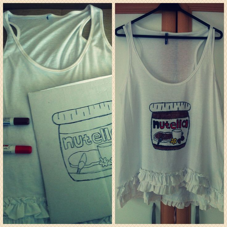 hand painted t-shirt by selmin co