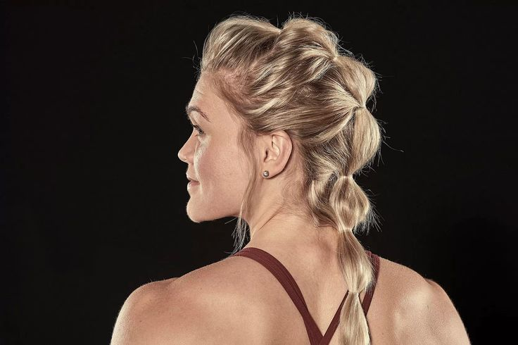 We worked with Fittest Woman on Earth Katrin Davidsdottir to put together four hairstyles specifically designed and tested to hold up against the toughest gym movements.
