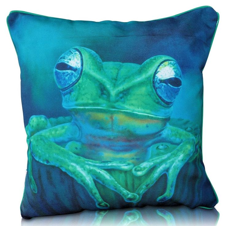 Kermit Cushion Cover (Premium) is very softer to touch and heavier by weight.  #PillowCovers #HomeDecor #PillowCase