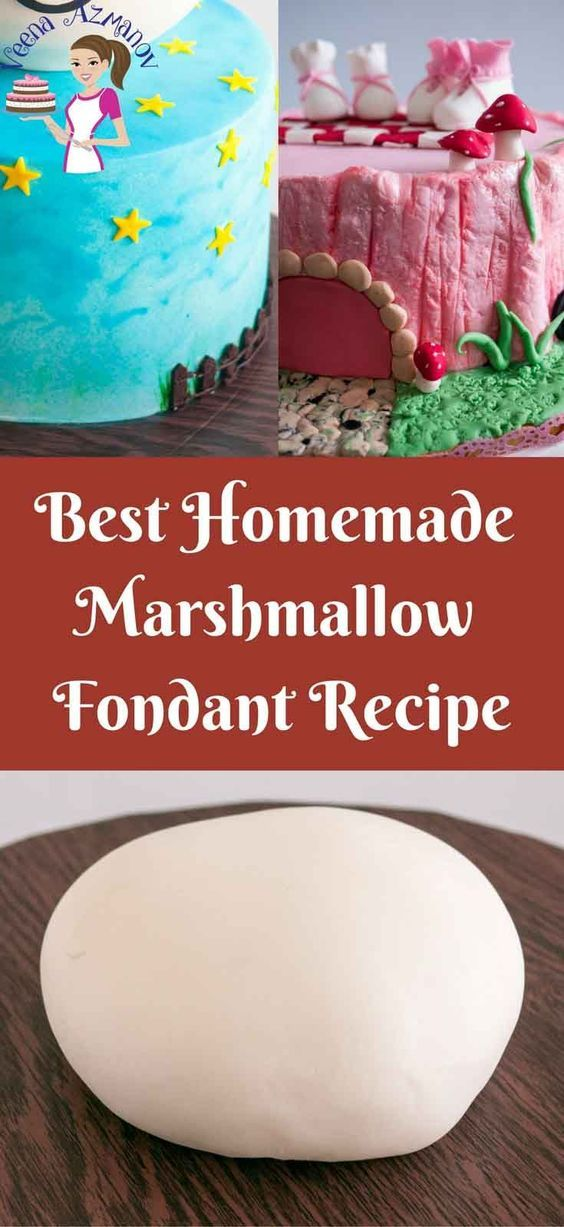 how to make fondant out of marshmallows