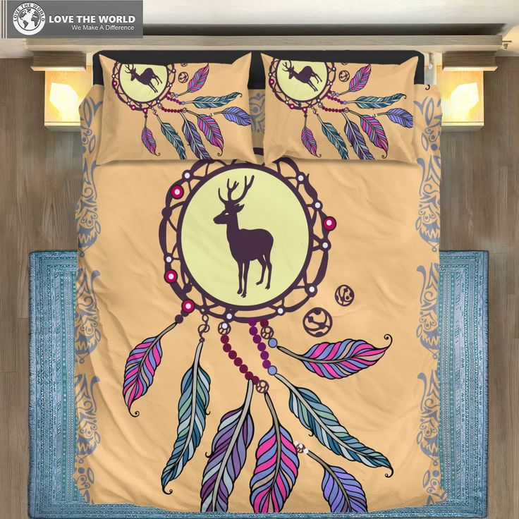 Finland Reindeer Dreamcatcher CLA3010232B Bedding Sets