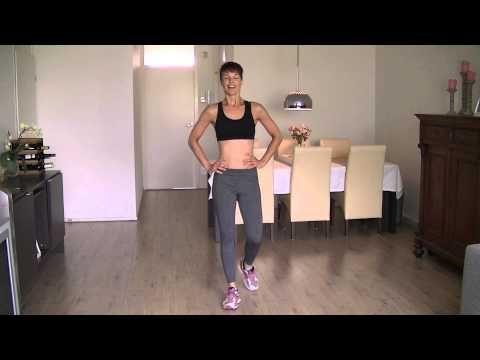 Slanke en Strakke benen workout voor vrouwen - YouTube