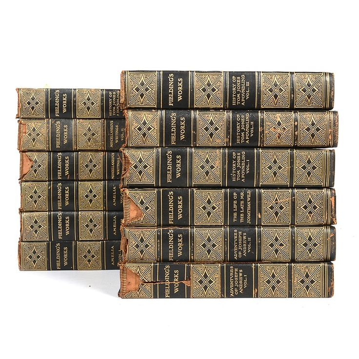 """""""The Complete Works of Henry Fielding"""" Collection"""