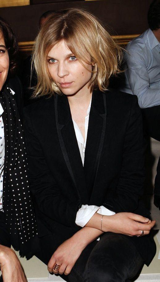 FRONT ROW: CLÉMENCE POÉSY | STELLA MCCARTNEY F/W 2014 - Le Fashion