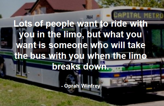 Love this quote on friendship by the very wise Oprah Winfrey!!!  :)