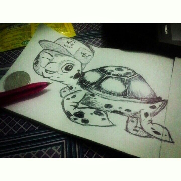 Little turtle. Reference by wwf