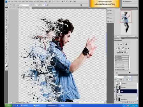 Photoshop tutorial sobre el efecto de la dispersión - YouTube