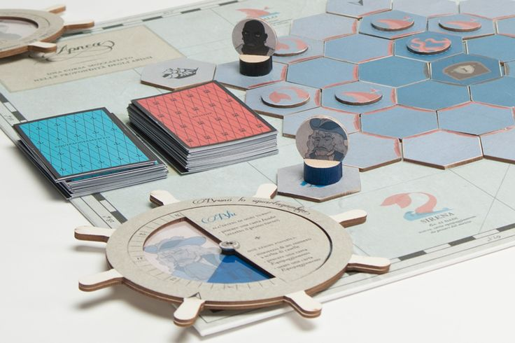 Boardgame project developed for the course of Game Design, 2014 ©