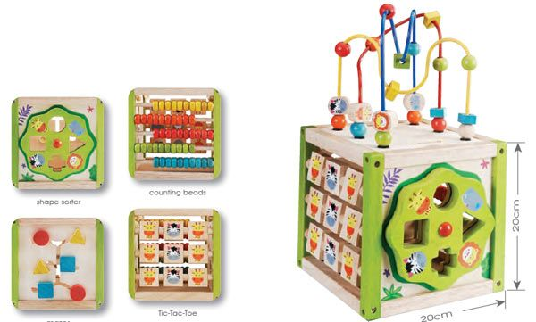 Everearth 5 in 1 Activity cube