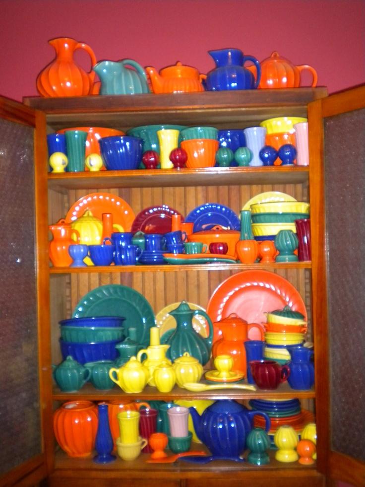 vintage Shawnee pottery -- Valencia