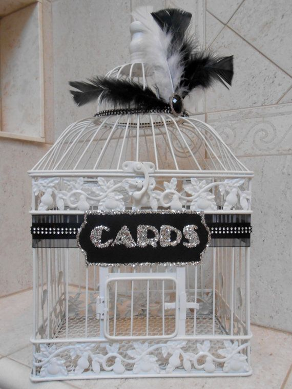 Large Wedding Birdcage Card Holder Wedding Card Box Great – Large Wedding Card Box