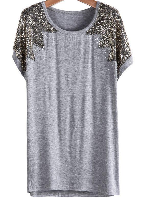 Tee-shirt ou petite robe manche courte