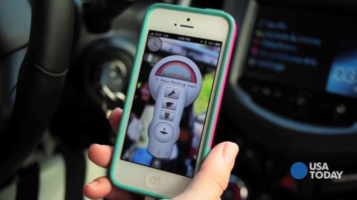 Breathing app - TECH NOW: Parking and traffic apps help you get around.