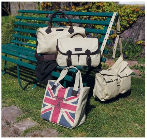 Selection of Barbour bags