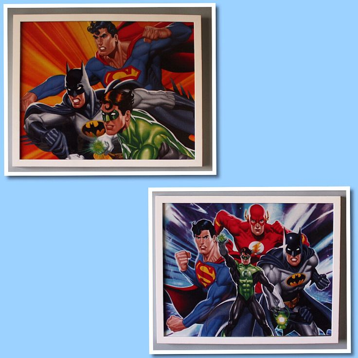 Justice League Team Available as a set of 4 or individually