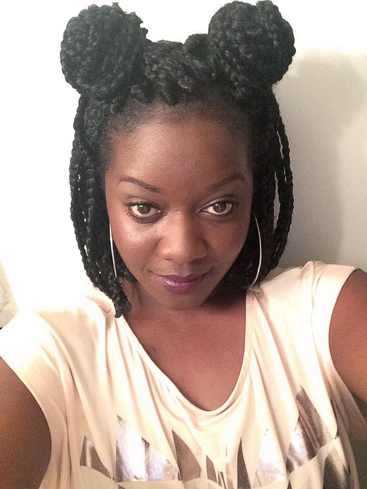 Enjoyable 17 Best Images About Box Braids Short On Pinterest Ghana Braids Short Hairstyles For Black Women Fulllsitofus