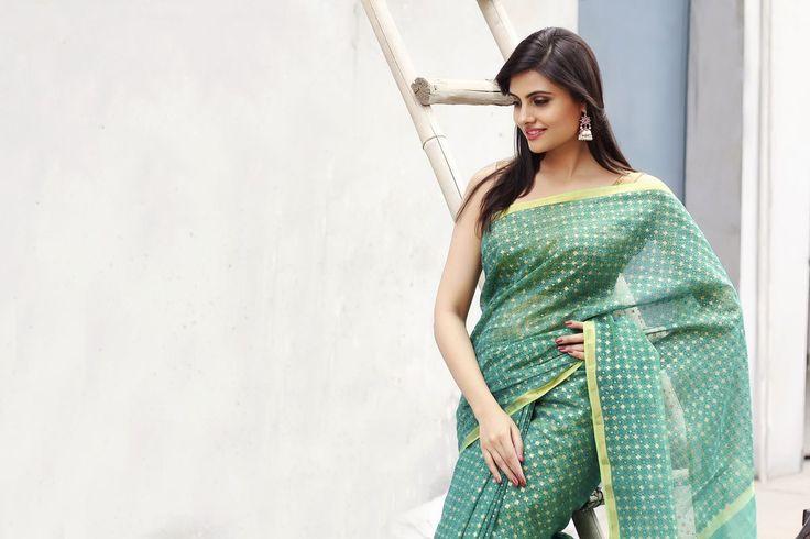#chanderi #saris #classics #prints #turquoise