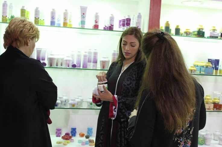 Instant results were given to all our visitors at the Saudi Health and Beauty Show who just loved all our cosmetics products which are totally natural straight from Belgium