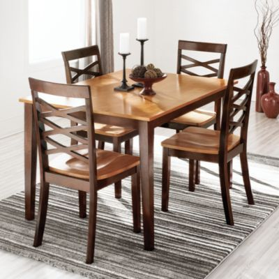 Hayes Collection Set Of 2 Dining Chairs