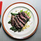 Een heerlijk recept: Gegrilde steak met miso en truffelolie