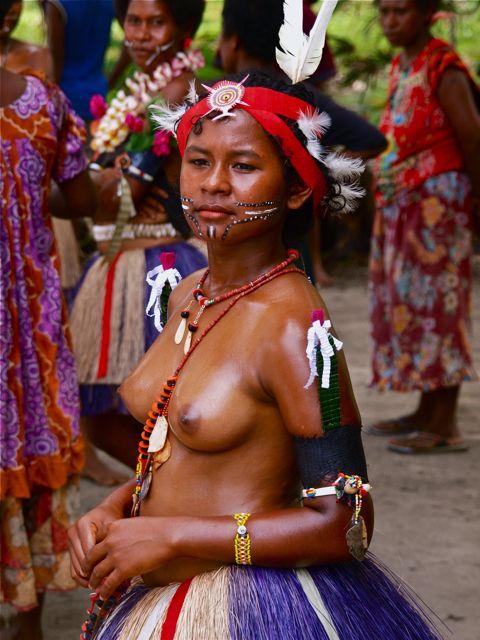 Kitava Island in Papua New Guinea.